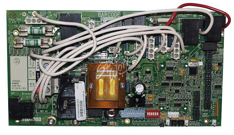coleman spa circuit board 2006 2008 chip 460r1 460r2. Black Bedroom Furniture Sets. Home Design Ideas