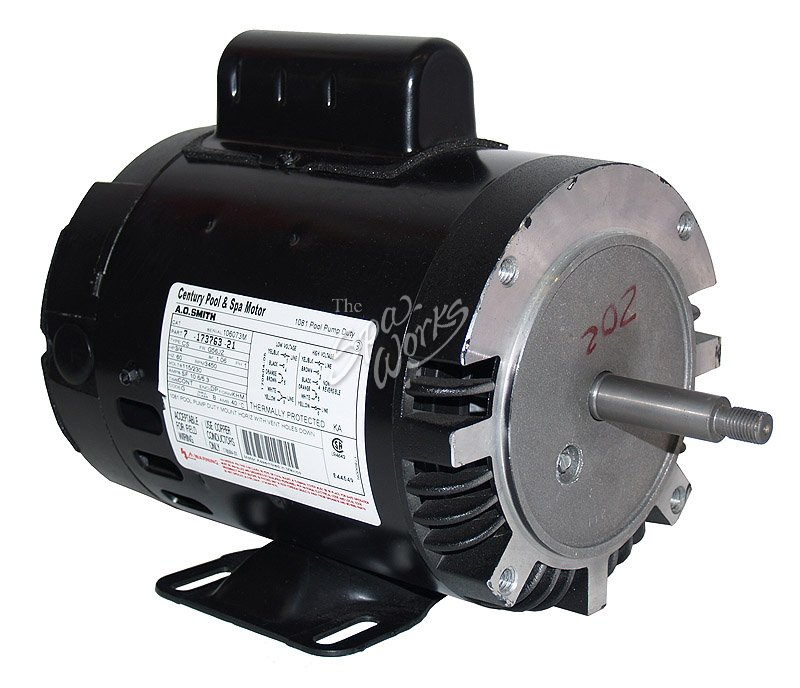 Jacuzzi Spa Motor 3 4 Hp 1 Speed 120 240 Convertable