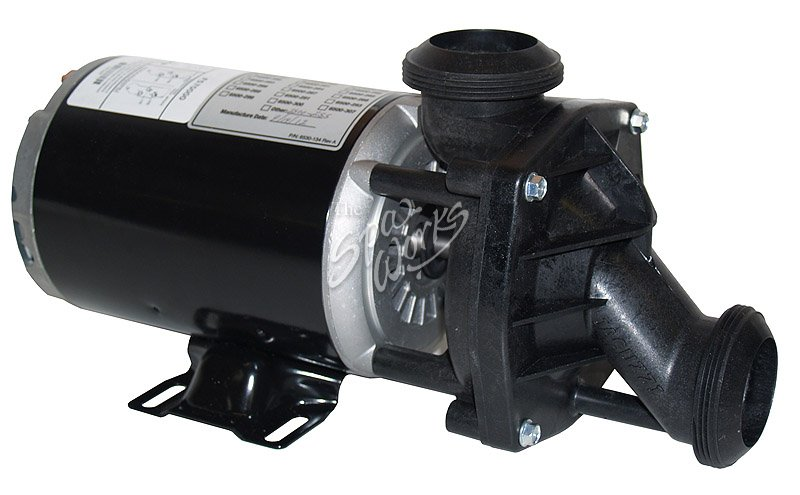 Jacuzzi spa j pump 120 volts 2 speed the spa works for Spa motor and pump