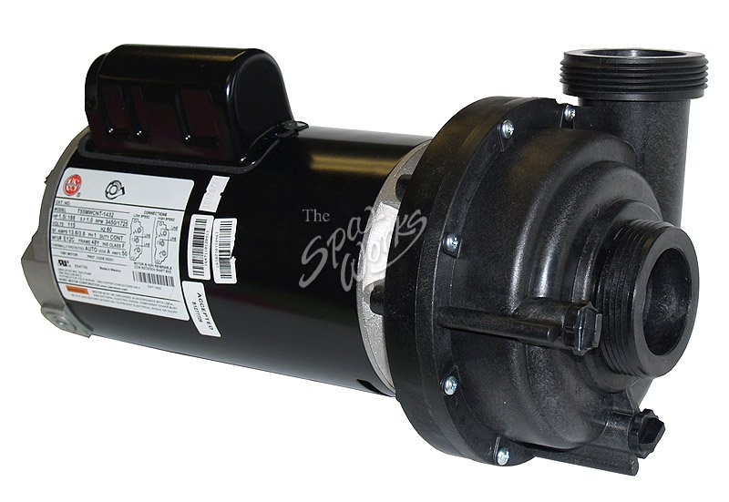 Jacuzzi spa pump motor 2 1 2 hp 1 speed 230 volt the for Jacuzzi tub pump motor