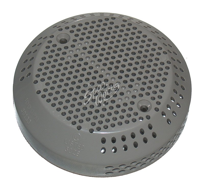 jacuzzi spa cover  suction  drain gray  2002