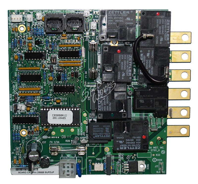 Cal Spas C2100r1b And Cs5000r1d Circuit Board