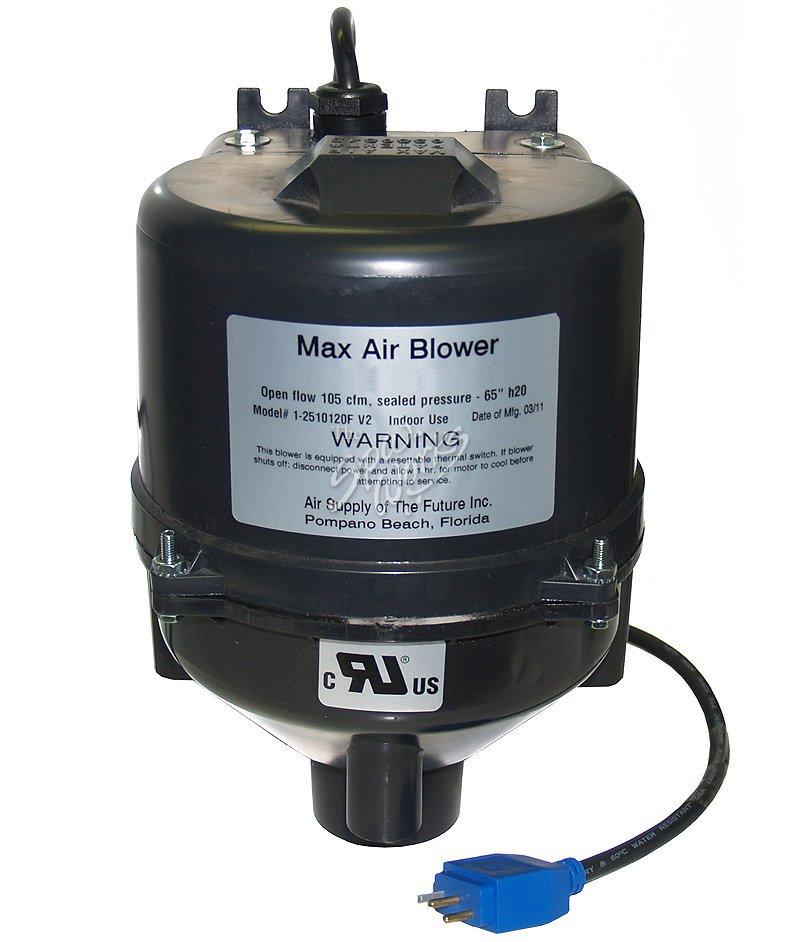Air Blower Work : Max air blower hp v mini jj plug the spa works