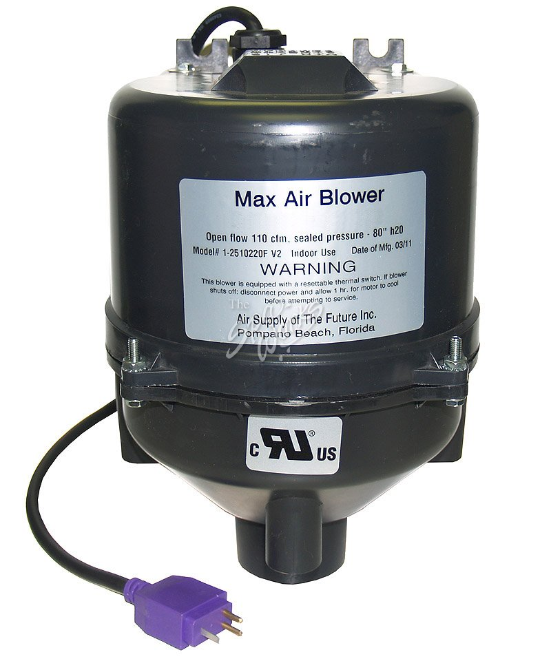 Miniature Air Blower : Max air blower hp v with mini jj plug the spa works