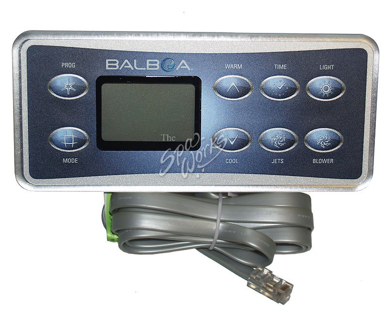 Balboa Hot Tub >> BALBOA SERIAL DELUXE DIGITAL SPA SIDE CONTROL PANEL | The ...