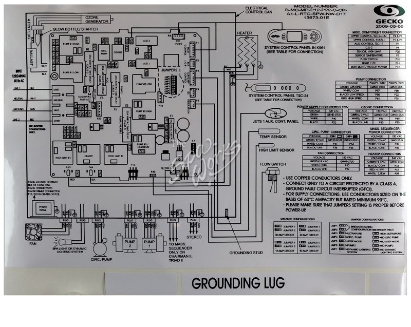 Balboa Wiring Diagram 220