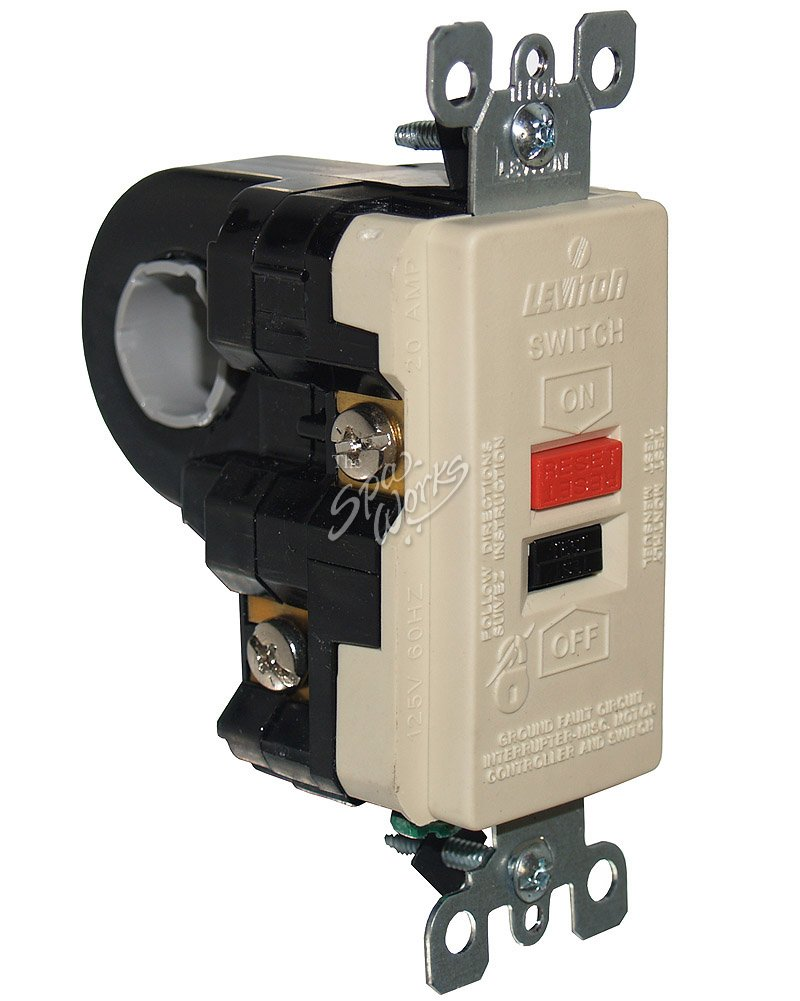 LEVITON 240 VOLT HIGH CURRENT GFCI | The Spa Works