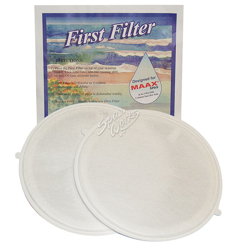 FIRST FILTER MAAX / COLEMAN SPAS | The Spa Works