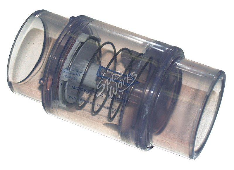 Caldera Spa Air Blower Check Valve 1 3 Pound Spring The