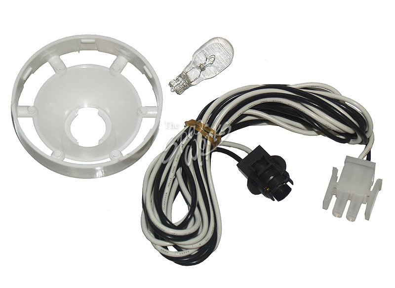 Lights Amp Parts : Cal spa light bulb socket with amp plug and