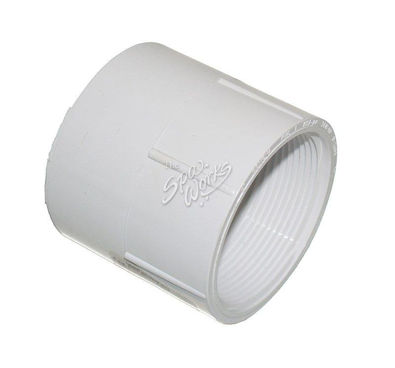 Pvc inch female adapter pipe thread slip the