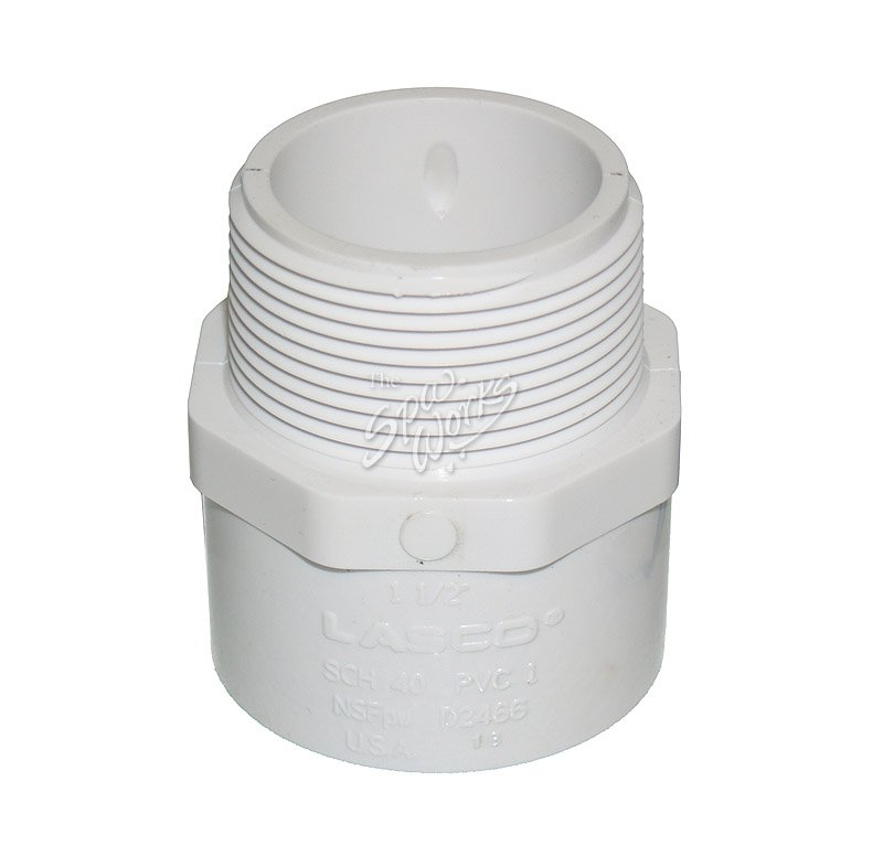 Pvc inch male pipe thread slip adapter the