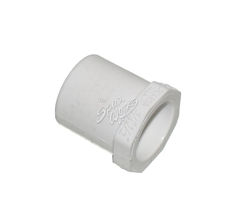 Pvc inch reducer bushing slip spig the spa works