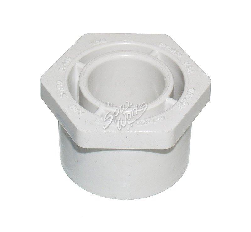 Pvc  inch reducer bushing slip spig the spa