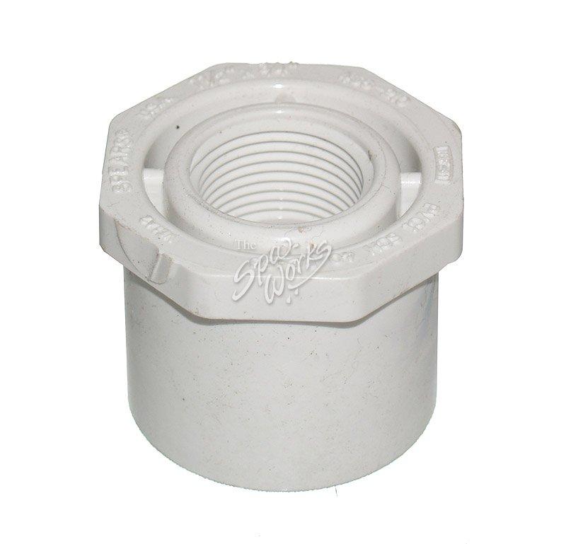 Pvc  inch spig female pipe thread reducer