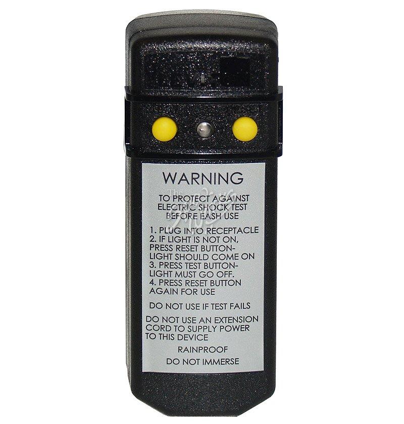 LEVITON 20 AMP, 120 VOLT, CORD END GFCI RIGHT ANGLE PLUG   The Spa Works