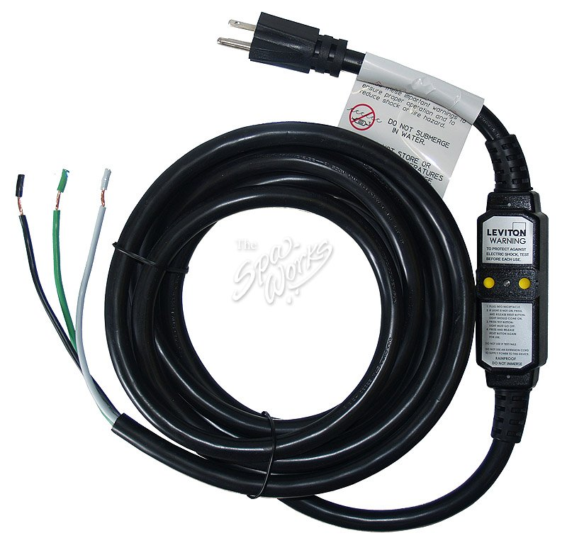 MARQUIS SPA 15 AMP GFCI POWER CORD | The Spa Works