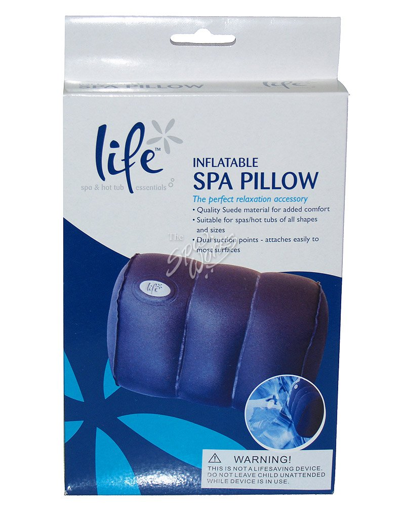 Life Spa Inflatable Spa Pillow The Spa Works