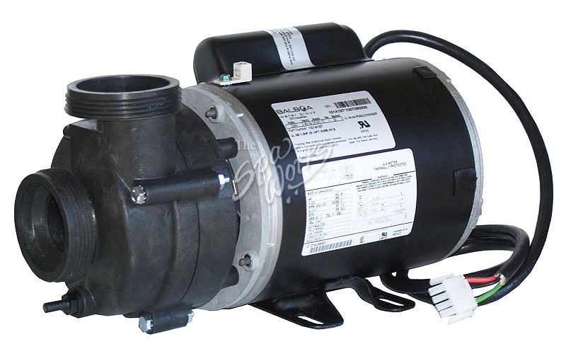 vico ultra jet 1 hp 230 volt 2 speed 48 fr pump 56 fr motor rh thespaworks com Ultra Jet Spa Pump Hot Tub Pumps