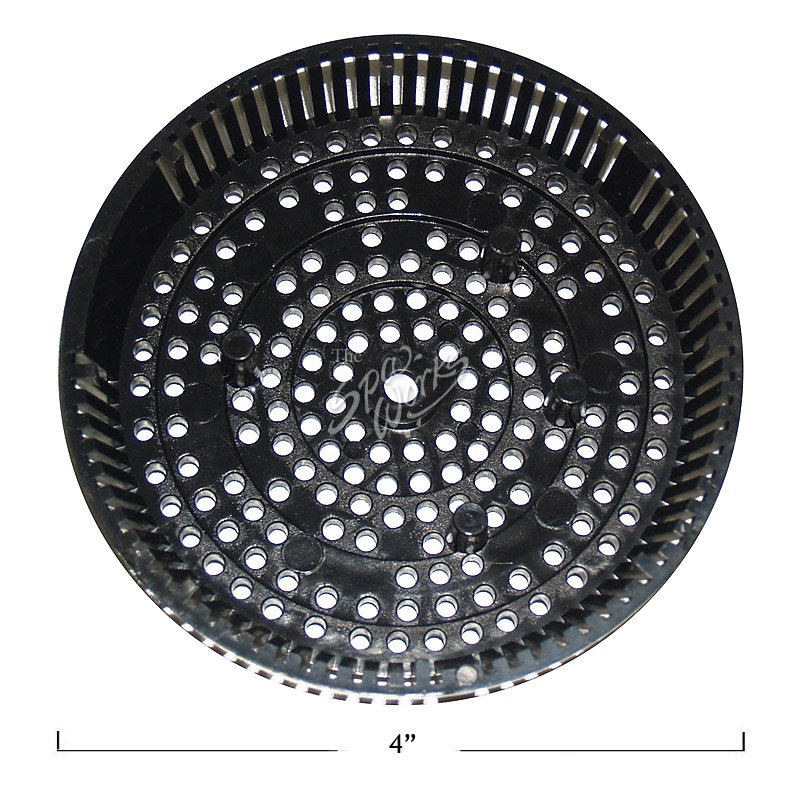 Cal Spa Bottom Drain Star Suction Cover Black The Spa Works