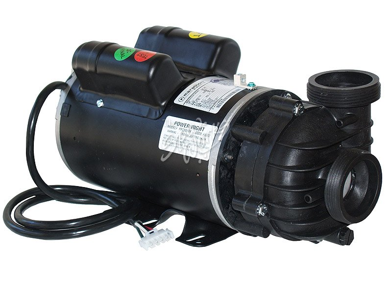 Cal spa power right 5 bhp 230 volt 2 speed pump motor for Spa motor and pump