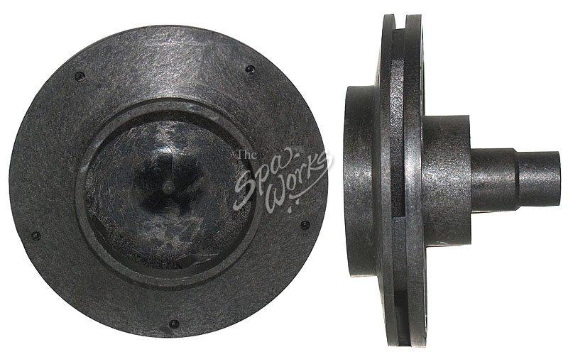 Cal spa power right dually reverse impeller 56 frame for Cal spa dually pump motor