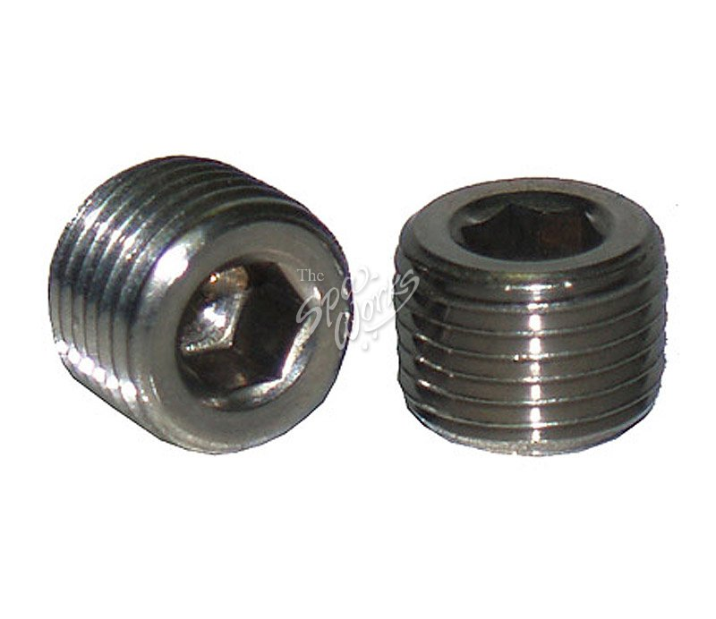 JACUZZI SPA 1/8 INCH NPT PRESSURE SWITCH HOLE PLUG ...