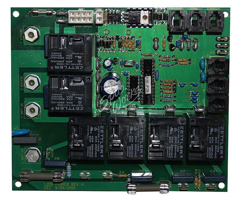 vita spa l200 l100 circuit board spa linc ready 8 pin. Black Bedroom Furniture Sets. Home Design Ideas