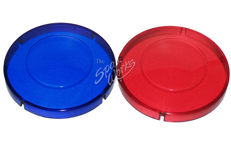 JACUZZI SPA LIGHT FILTER (BLUE AND RED LENS)