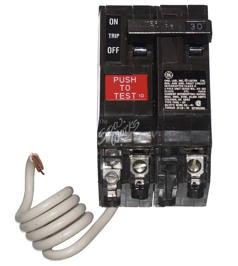 CALDERA SPA GFCI BREAKER, 30 AMP, 240 VOLT | The Spa Works
