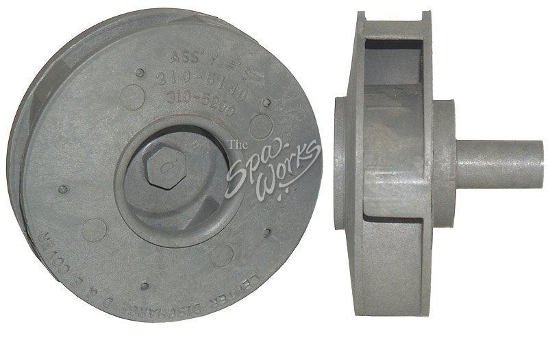 Cal Spa 2 Hp Pump Impeller The Spa Works