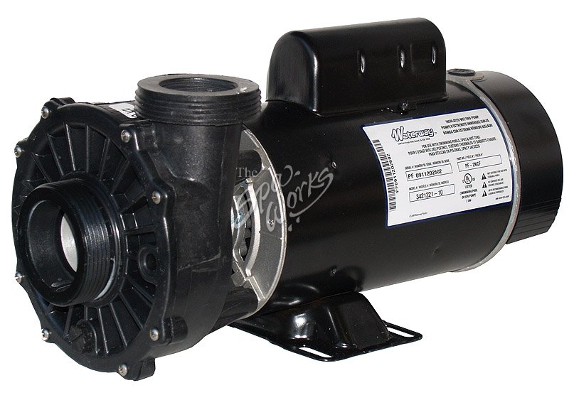 Vita spa side discharge pump and motor complete 2 speed for 3 hp spa pump motor