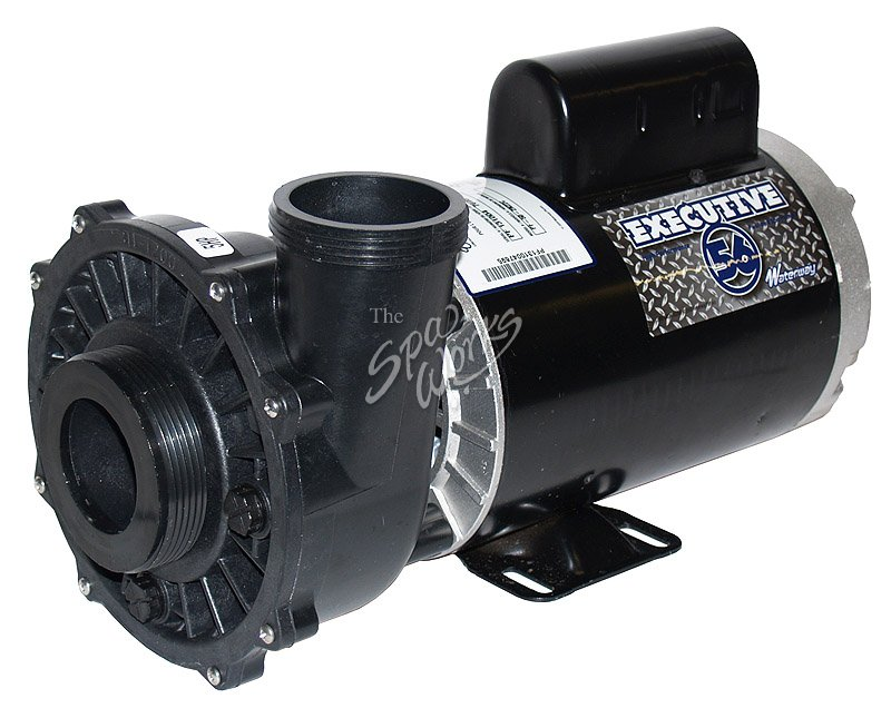 Waterway executive pump 3 hp 230v 56 frame 2 speed 2 for 3 hp spa pump motor
