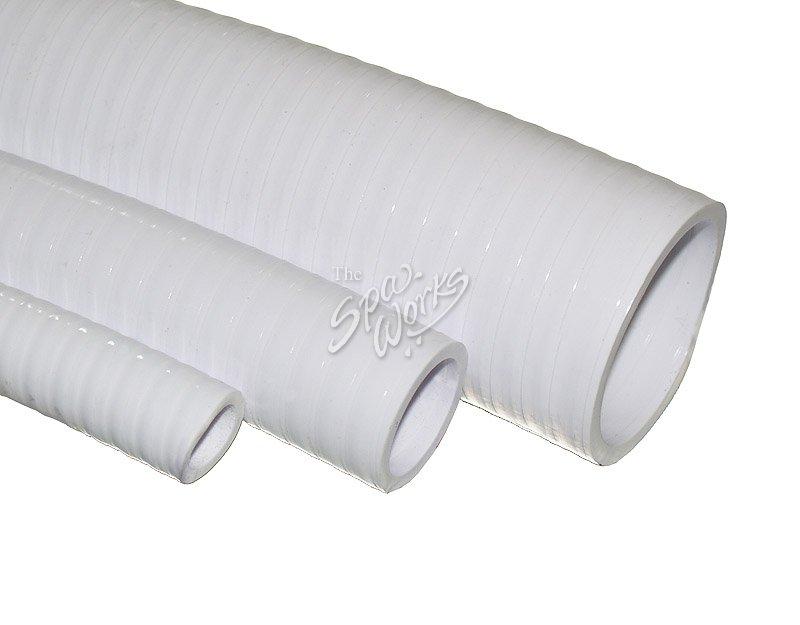 1 INCH WHITE PVC FLEX PIPE  sc 1 st  The Spa Works & 1 INCH WHITE PVC FLEX PIPE   The Spa Works